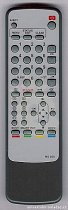 Philips TV+VCR COMBO RT720, RT721, RT722 replacement remote control copy