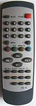 HOMETECH  - CTV 2137 T Replacement Remote control