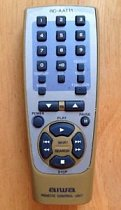 Aiwa RC-AAT11 replacement remote control different look