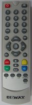 DIWAY - T2200 , FTE digital terrestrial receiver - SET TOP BOX Original Remote control