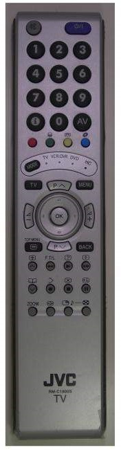 JVC LT-42DV8BG replacement remote control for TV