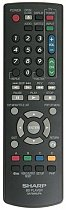 Sharp GA781WJPA replacement remote control different look
