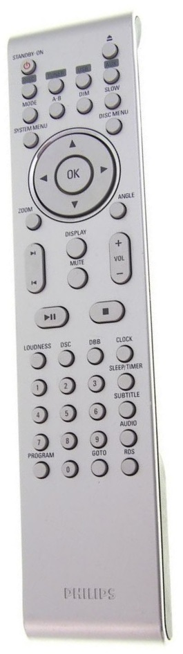 Philips PRC501-18 replacement remote control different look