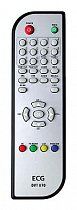 ECG DVT870 replacement remote control different look