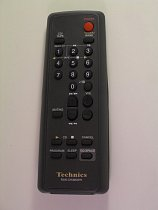 Technics SC-EH500 replacement remote control different look