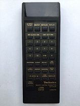 Technics EUR64798 replacement remote control different look