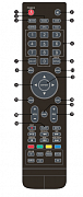 Sencor SLE2464TCS replacement  remote control different look