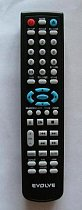 Evolve DX580 replacement remote control different look
