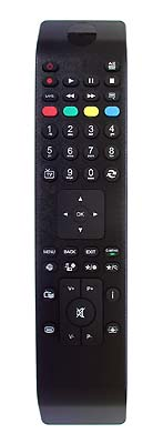 Nordmende NM22906M4  RC4800 replacement remote control - copy