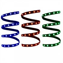 1m  LED strip sticker MULTICOLOR  TV EFFECT - with REMOTE CONTROL