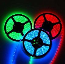 5m LED strip sticker  MULTICOLOR  EFFECT - with remote control and power supply - LED Flexible Strips