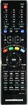 Nordmende NU323LD replacement remote control different look.