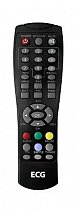 ECG-DVB-T350, Alma T1500 replacement remote control different look