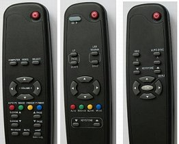 Epson EMP-DM1 EB-460E EB-485WI replacemnet remote control different look