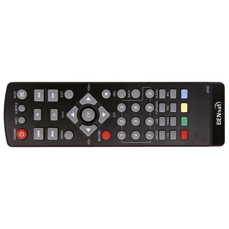Evolveo ALPHA HD replacement remote control different look