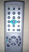 Aiwa RC-AAR02 replacement remote control different look