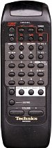 Technics EUR643861 replacement remote control different look SA-GX180