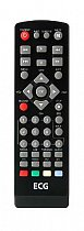 ECG DVT1250HDPVR replacement remote control different look