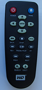 Western Digital WD HD Live replacement remote control different look